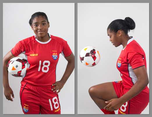 Deondra Kelly – Cayman Islands Under 15 Girls National Team