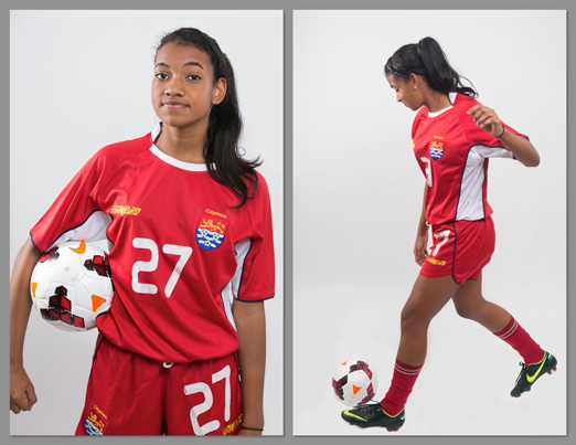 Halle Medina – Cayman Islands Under 15 Girls National Team