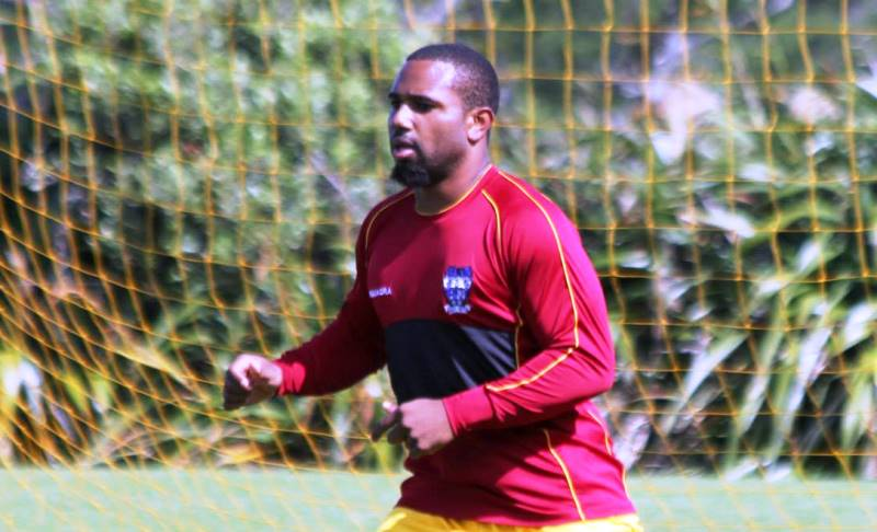 Mclean was on target for Bodden Town